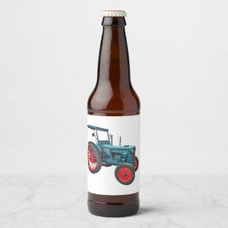 Étiquette Pour Bouteilles De Bière Vieux tracteur Hanomag R 22