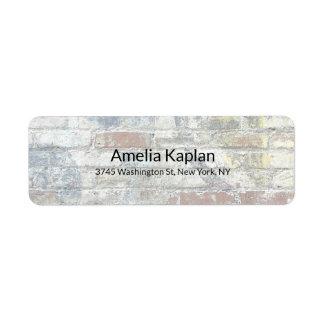 Étiquette Professionnel minimaliste simple moderne de mur