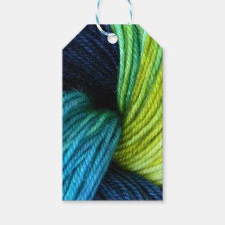 Étiquettes-cadeau Copie de fil, tricot, crochet