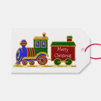 Étiquettes-cadeau Joyeux Noël Choo Choo
