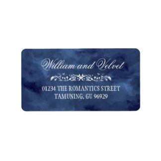 Étiquettes de adresse de Bohème de mariage