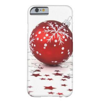 Étoiles de vacances de Noël Coque iPhone 6 Barely There