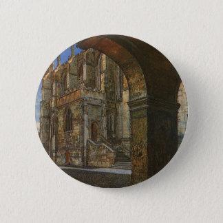 Eton Uni-Kapelle durch Anna Alma Tadema Runder Button 5,1 Cm