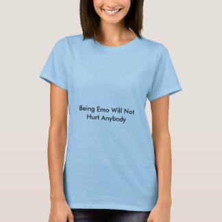 Être Emo ne blessera pas quiconque T-shirt