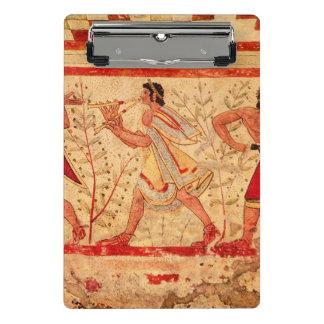 Etruscan Musiker Mini Klemmbrett
