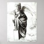 Étude d'un ange poster