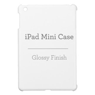 Étui iPad Mini Mini cas d'iPad brillant fait sur commande