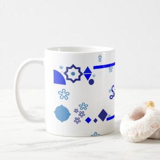 Etwas blaue Tasse
