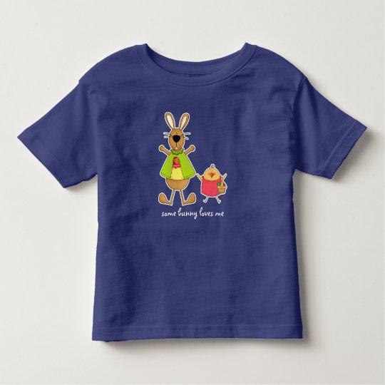 Etwas Häschen-Lieben ich. Ostern-Säuglings-T - Kleinkind T-shirt