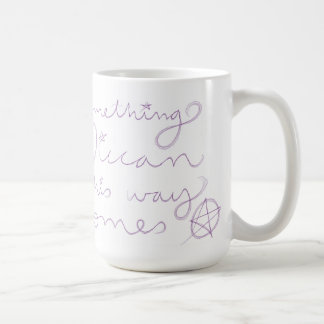 Etwas Wiccan Kaffeetasse