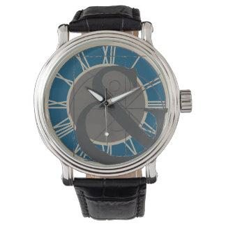 Etzeichen-Logo-Art Armbanduhr