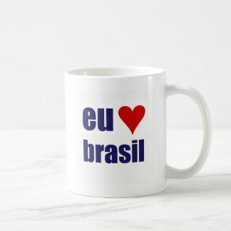 Eu-Amo Brasilien Kaffeetasse