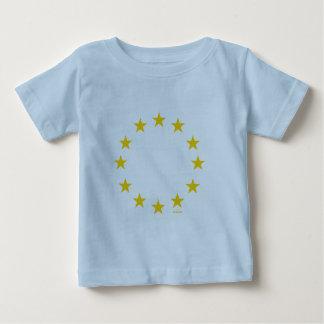 EU-Flagge (europäische Gewerkschaft) Baby T-shirt