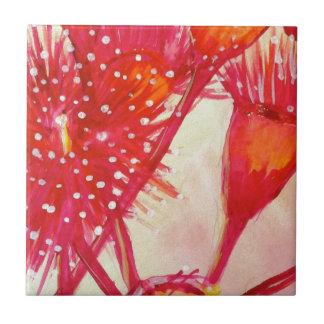Eukalyptus-Blume Kleine Quadratische Fliese
