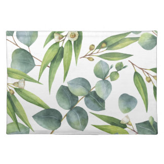 Eukalyptus-Laub-Muster Stofftischset