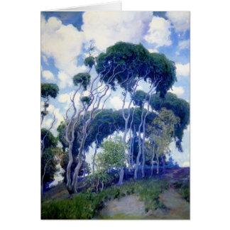 Eukalyptus Typ-Rose Laguna Grußkarte