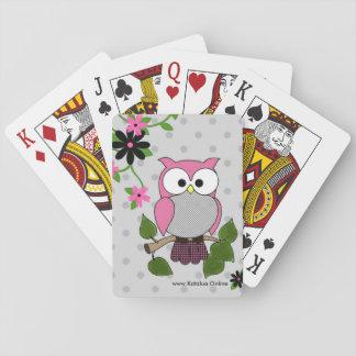Eule sieht Sie! Spielkarten