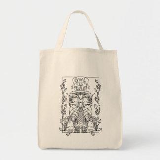 Eule unsere beste Vati Vatertags-Taschentasche Einkaufstasche