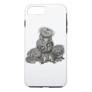 Eulen-Familie iPhone 8 Plus/7 Plus Hülle