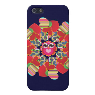 Eulen-Liebe Blume Iphone Fall Schutzhülle Fürs iPhone 5
