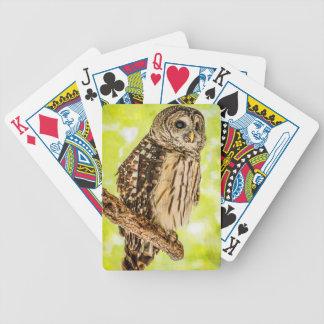 Eulen-Spielkarten Bicycle Spielkarten