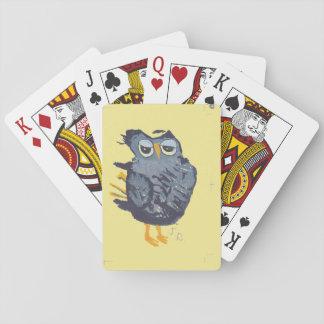 Eulen-Spielkarten Spielkarten