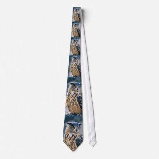 Eurasische Eulen-Krawatte Individuelle Krawatte