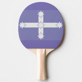 Eureka-Flagge Tischtennis Schläger