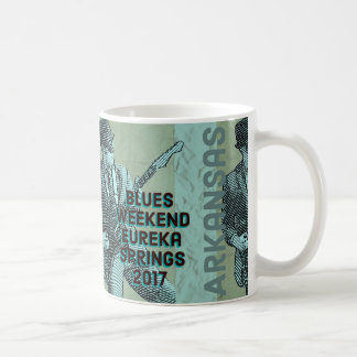 Eureka- SpringsBlues-Wochenenden-Kaffee-Tasse 2017 Kaffeetasse