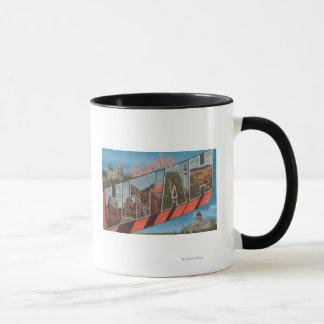 Eureka, UtahLarge Buchstabe ScenesEureka, UT Tasse