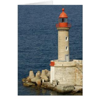 Europa, Frankreich, Korsika, Bastia.  Hafen Karte