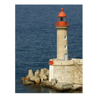 Europa, Frankreich, Korsika, Bastia.  Hafen Postkarten