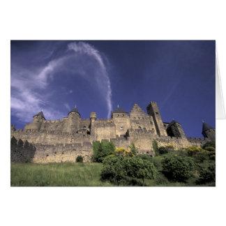 Europa, Frankreich, Languedoc; Aude; Carcassonne, Karte