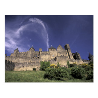 Europa, Frankreich, Languedoc; Aude; Carcassonne, Postkarte