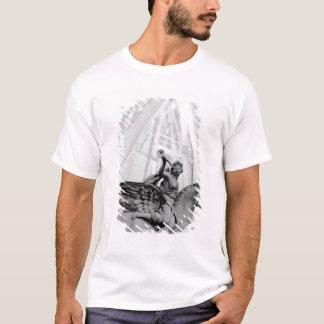 Europa, Frankreich, Paris. Statue und Riesenrad, 2 T-Shirt