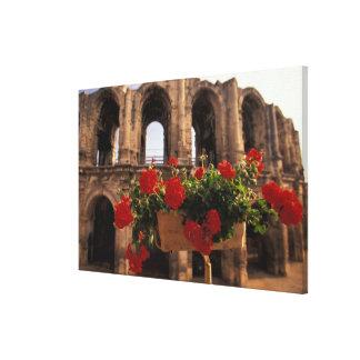 Europa, Frankreich, Provence, Arles, Bouches, DU, Galerie Gefaltete Leinwand