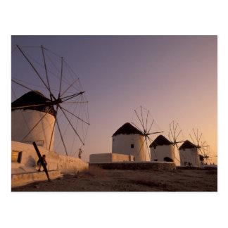 Europa, Griechenland, die Kykladen-Inseln, Postkarte