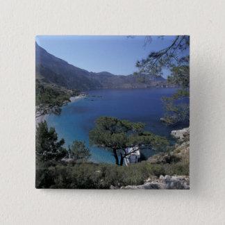 Europa, Griechenland, Karpathos, Dodecanese; Quadratischer Button 5,1 Cm