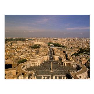 Europa, Italien, Rom, Vatikan. Ansicht von St. Postkarten