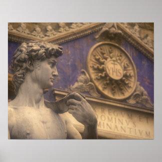 Europa, Italien, Toskana, Florenz, Marktplatz dell Poster