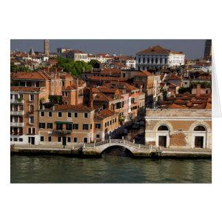 Europa, Italien, Venedig. Kanalansichten. UNESCO Karte