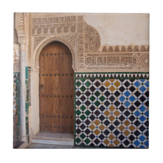 Europa, Spanien, Andalusien, Granada, Alhambra Fliese
