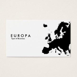 EUROPA VISITENKARTEN