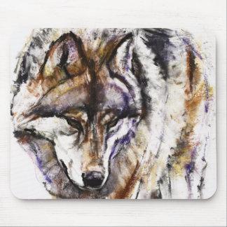 Europäischer Wolf Mousepads