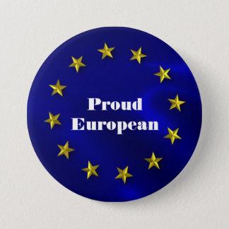 Europäisches Gewerkschafts-Stolz-Abzeichen Runder Button 7,6 Cm
