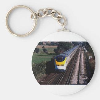 Eurostar-Personenzug Schlüsselanhänger