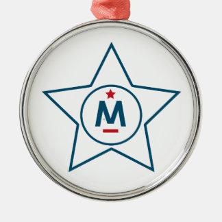 Evan McMullin - es ist nie zu spät Silbernes Ornament