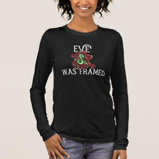 Eve war gerahmt langarm T-Shirt