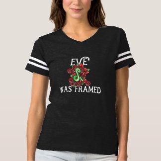 Eve war gerahmt t-shirt