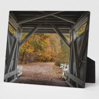 Everatt Straßen-überdachte Brücke Fotoplatte